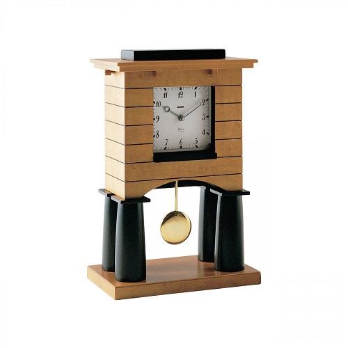 orologio in legno di acero alessi fuori produzione