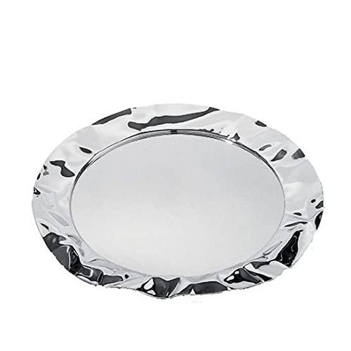 alessi vassoio in acciaio rotondo 44 cm