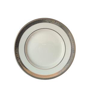piatto piano 15 cm pane wedgwood marcasite bone china