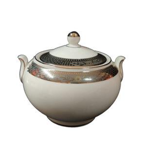 zuccheriera porcellana bone china wedgwood marcasite