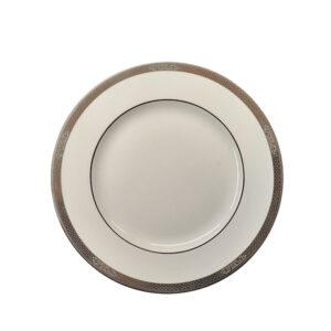piatto piano porcellana bone china 27 cm wedgwood marcasite