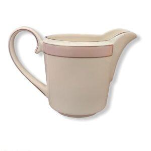lattiera cremiera bone china wedgwood vera wang pink duchesse fuori produzione