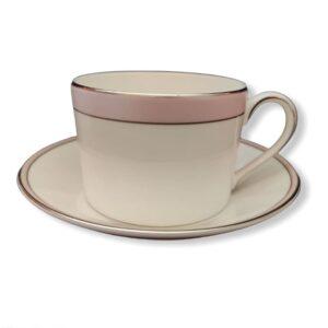 tazza da tè wedgwood bone china fuori produzione vera wang pink duchesse