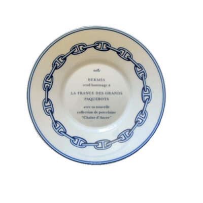 HERMES CHAINE D'ANCRE Piattino Collezione Collection Plate