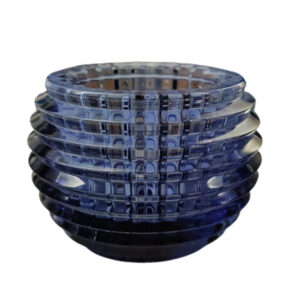 EYE VOTIVE PORTACANDELA BLUE