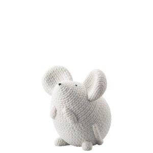 rosenthal pets topo bianco grande
